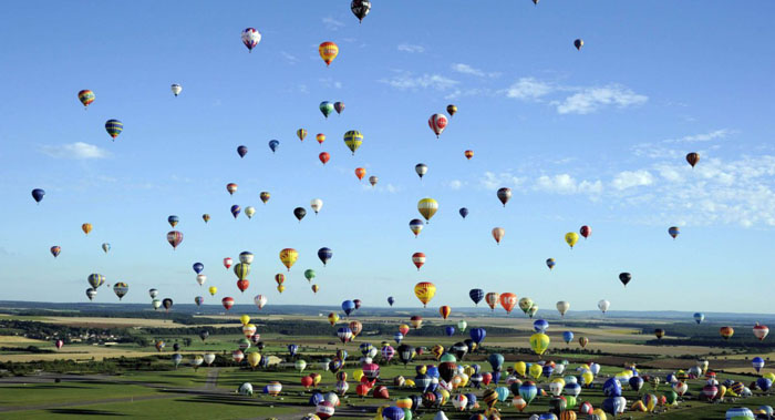 montgolfiere evenement